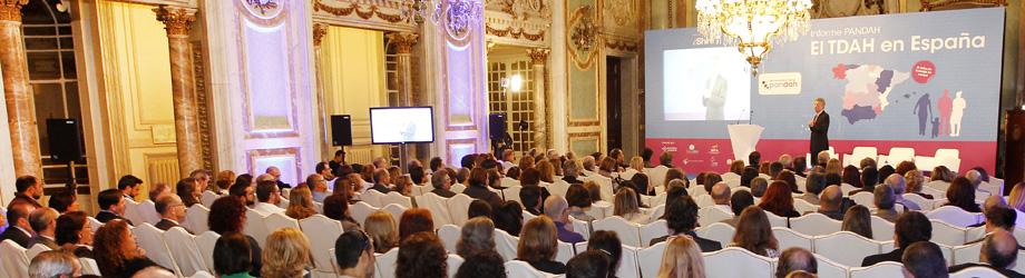 Presentación del informe Pandah 'El TDAH en España'