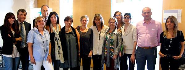 Representantes de las asociaciones de TDAH de Cataluña, instituciones y profesionales.